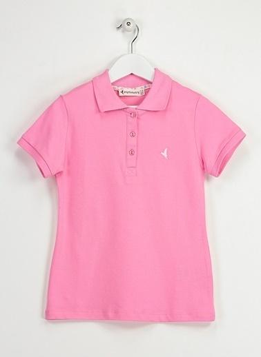 Asymmetry Tişört Pembe